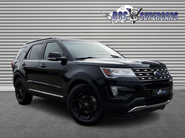 Ford USA Explorer BLACK EDITION 7-PERS BTW 2019