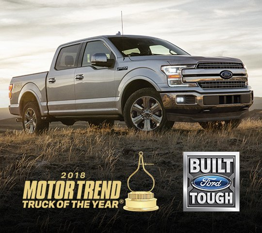 NEW F-150 NAMED 2018 MOTOR TREND TRUCK OF THE YEAR; FORD